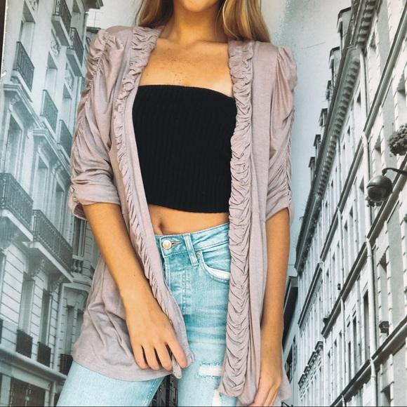 Charlotte Russe Jackets & Blazers - Charlotte Russe Long sleeve Pink Shaul